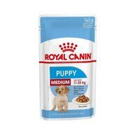 Пресервы Royal Canin Medium Puppy в соусе 140г, 10шт.