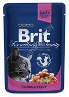 Пресервы Brit Premium  with Salmon & Trout, 100г