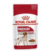 Пресервы Royal Canin Medium Adult в соусе 140г, 10шт.