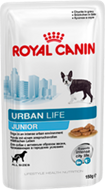 Пресервы Royal Canin Urban Life Junior 10шт.