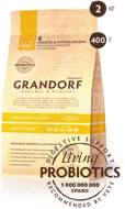 GRANDORF CAT Meat&Rice PROBIOTIC STERILISED