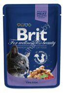 Пресервы Brit Premium with Cod Fish, 100г