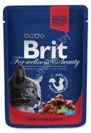 Пресервы Brit Premium with Beef Stew & Peas, 100г