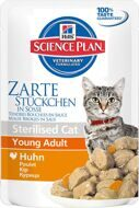 Hill`s Young Adult Sterilised Cat™ Chicken (с курицей) 12шт