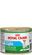 ROYAL CANIN ADULT LIGHT  MOUSSE 195г, для  собак с 10 мес