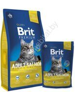 Brit Premium Cat Adult Salmon (с лососем)