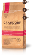 GRANDORF DOG Lamb&Rice MEDIUM