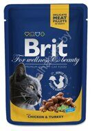Пресервы Brit Premium  with Chicken & Turkey, 100г