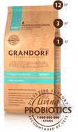 GRANDORF DOG Meat&Rice PROBIOTIC ALL BREEDS