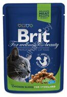 Пресервы Brit Premium Chicken Slices for Sterilised, 100г