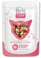 Пресервы Brit Care Cat Chicken & Duck, 80г